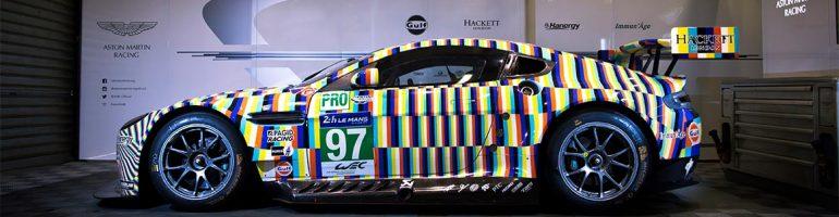 Tobias Rehberger Art Car 24 Hours of Le Mans