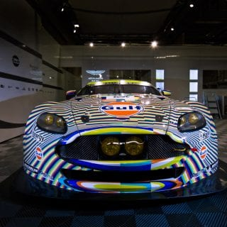 Tobias Rehberger Art Car Photos Aston Martin Racing Le Mans