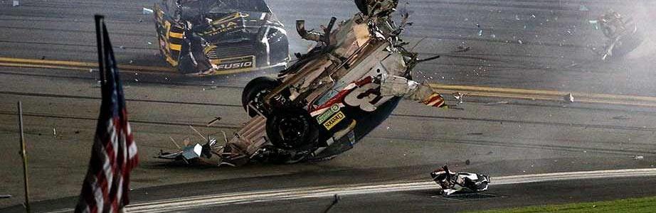 Austin Dillon Crash Video Hits Daytona Catchfence