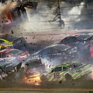 Daytona International Speedway President Joie Chitwood Speaks Austin Dillon Incident