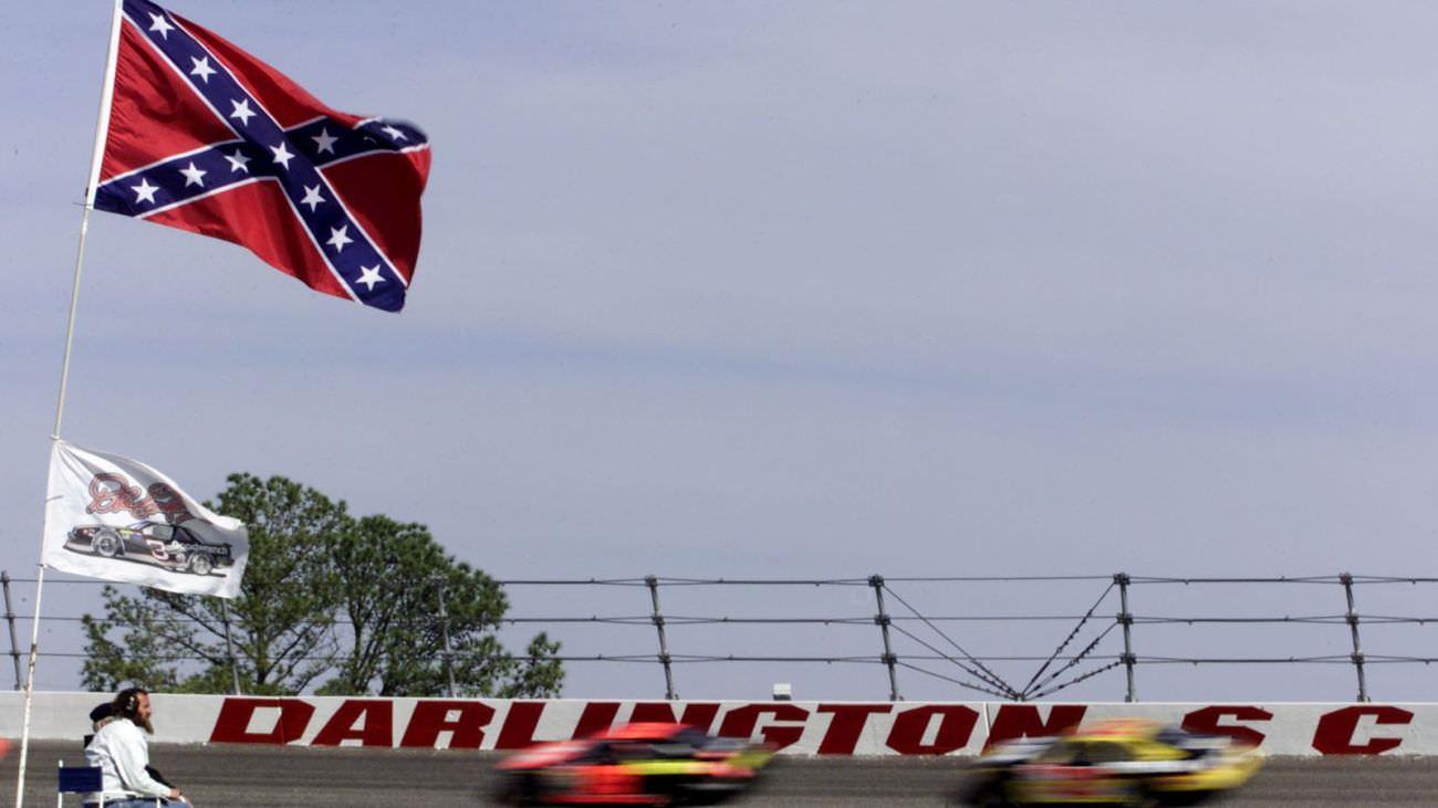 NASCAR Confederate Flag Darlington