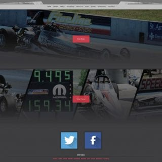 2015 Nicoletti Motorsports Drag Racing Team Website Design - Walters Web Design