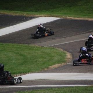 Adkins Raceway Park Banking Karting Track