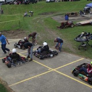 Adkins Raceway Park Track