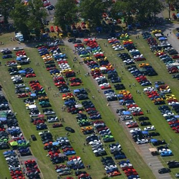 AmericanMuscle Car Show Photos from AM2015 Aerial Photos