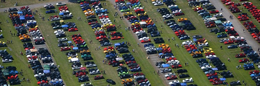 AmericanMuscle Car Show Hosts 3,000 Mustangs at AM2015