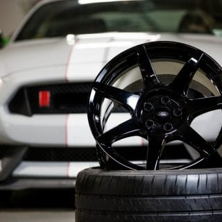 Ford Shelby GT350 Carbon Fiber Wheels Photos