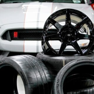 Ford Shelby GT350R Carbon Fiber Wheels