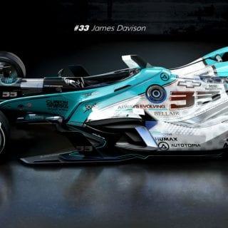 Artist Matúš Procháczka 2035 Dallara DW30 Indycar Chassis Always Evolving