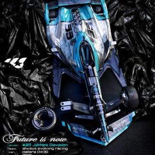 Artist Matúš Procháczka 2035 Dallara DW30 Indycar Chassis James Davison Always Evolving