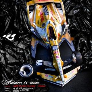 Artist Matúš Procháczka Creates 2035 Dallara DW30 Indycar Chassis Ryan Hunter-Reay