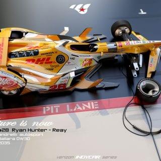 Artist Matúš Procháczka Creates 2035 Dallara DW30 Indycar Chassis Ryan Hunter-Reay Future Cars