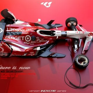 Artist Matúš Procháczka Creates 2035 Dallara DW30 Indycar Chassis Scott Dixon