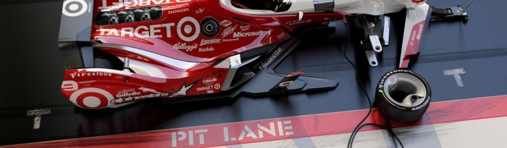 Artist Matúš Procháczka Creates 2035 Dallara DW30 Indycar Chassis