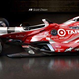 Artist Matúš Procháczka Creates Possible 2035 Dallara DW30 Indycar Chassis Scott Dixon