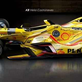 Artist Matúš Procháczka Helio Castroneves Future 2035 Dallara DW30 Indycar Chassis