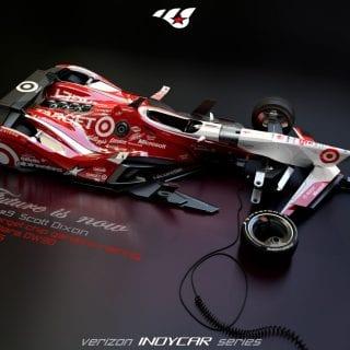 Artist Matúš Procháczka Possible 2035 Dallara DW30 Indycar Chassis Scott Dixon 2035