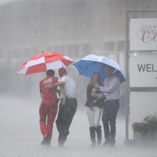 Hurricane Patricia Weather Hits Circuit of the Americas Heavy Rain