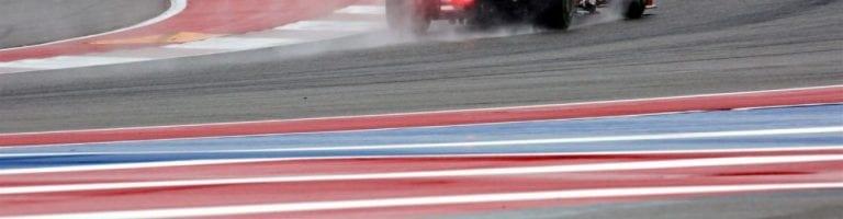 Hurricane Weather Hits United States Grand Prix