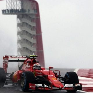 Hurricane Weather Hits United States Grand Prix Pictures