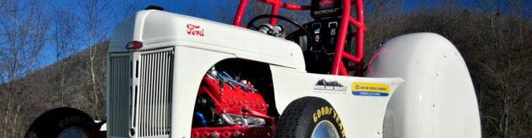 Jack Donohue 8N Credible Motorsports Tractor
