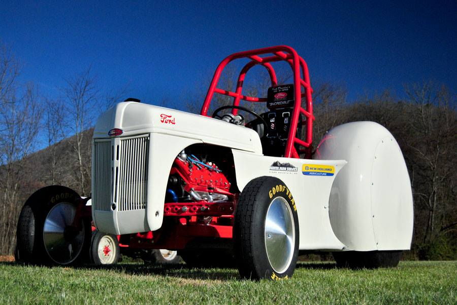 Jack Donohue Ford 8N Credible Motorsports Tractor Photos