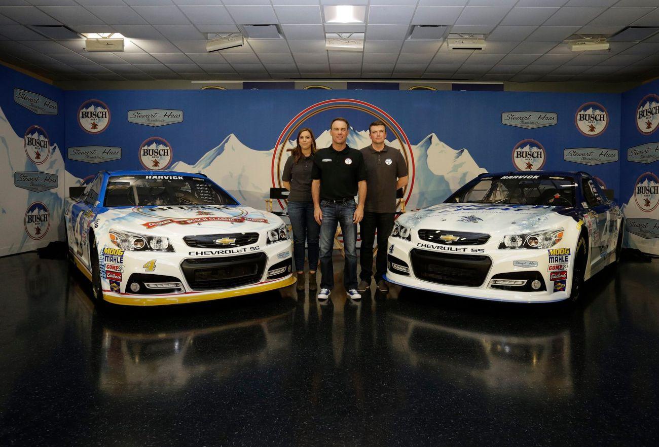 Kevin Harvick 2016 Paint Scheme Busch Beer NASCAR Paint Scheme