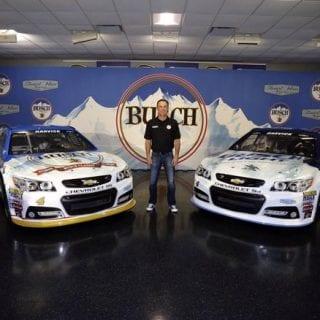 2016 Kevin Harvick Paint Scheme Busch Light Beer NASCAR Paint Scheme