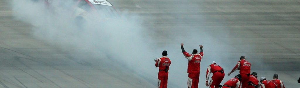 NASCAR Burnout Rules