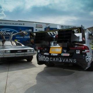 Pepsi Max Back to the Future V8 Supercar Photos