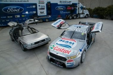 Pepsi Max Back to the Future V8 Supercar Photos Prodrive Racing
