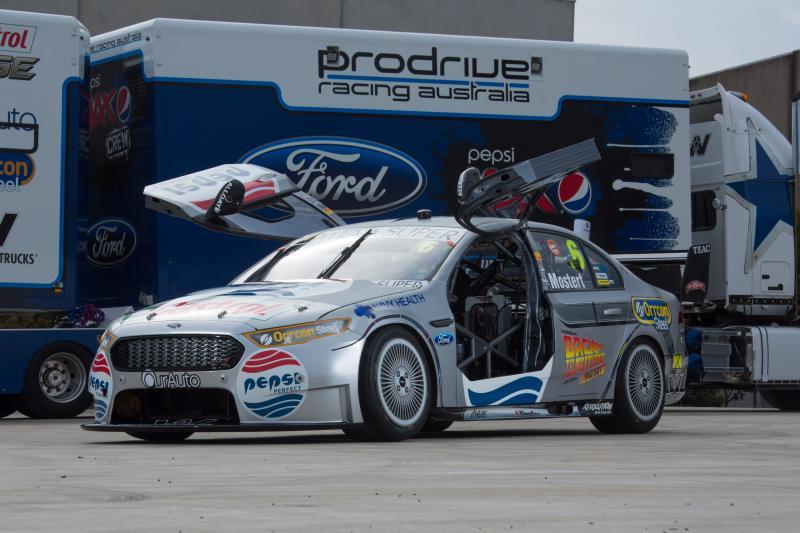 Pepsi Max Back to the Future V8 Supercar Photos Prodrive Racing Austrailia