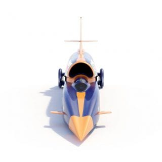 1000mph Car Bloodhound SSC Car Land Speed Record Photography