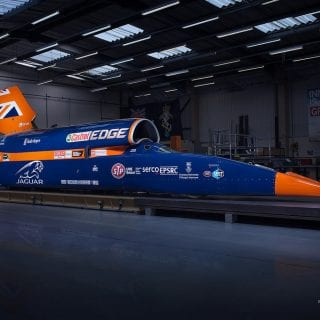 1000mph Bloodhound SSC Car Photos