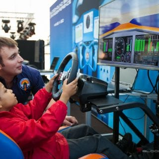 1000mph Bloodhound SSC Car Simulator