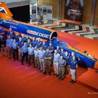 1000mph Bloodhound SSC Car Team