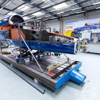 1000mph Bloodhound SSC Chassis