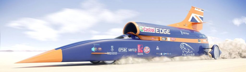 British Build 1000mph Car for $40 Million