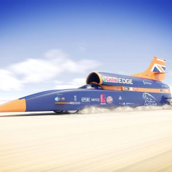 1000mph Bloodhound SSC Land Speed Record Photos