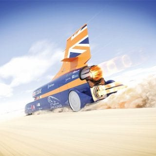 1000mph Bloodhound supersonic Car SSC Land Speed Record Photos