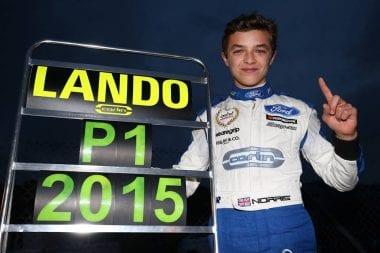 15 year old Lando Norris 2015 MSA Formula Champion