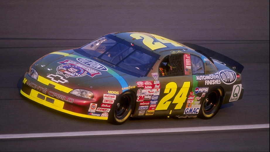1998 Jeff Gordon Dupont Chromalusion Paint Scheme