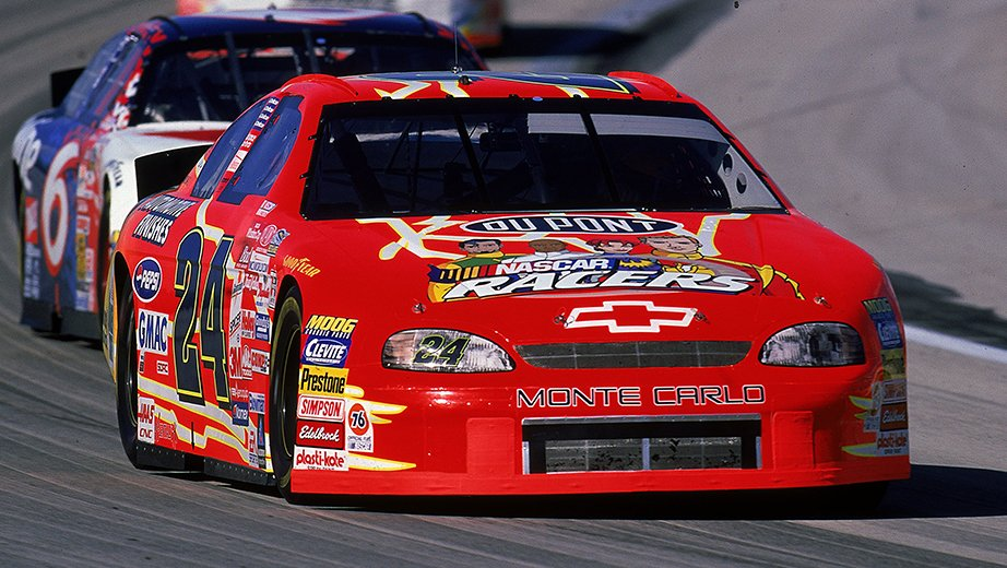 1999 Jeff Gordon NASCAR Racers Paint Scheme