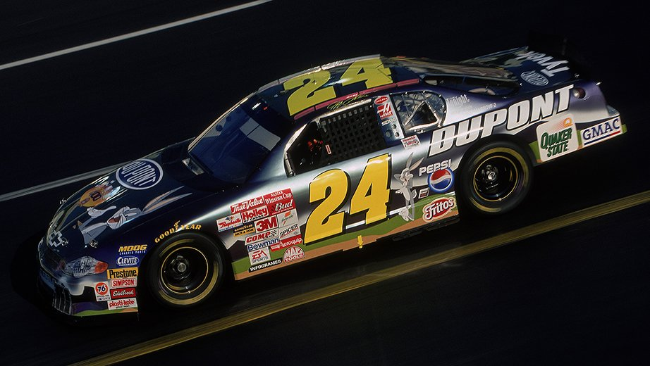 2001 Jeff Gordon Bugs Bunny Paint Scheme