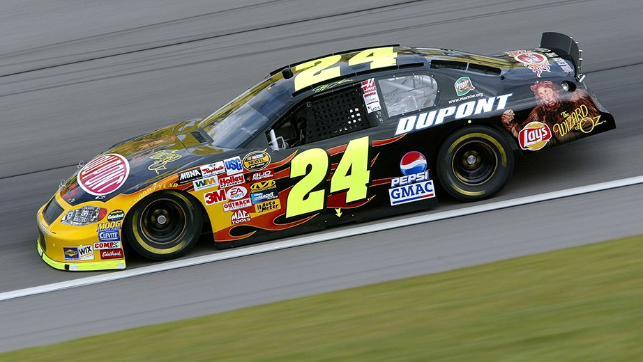 2004 Jeff Gordon Wizard of Oz Paint Scheme