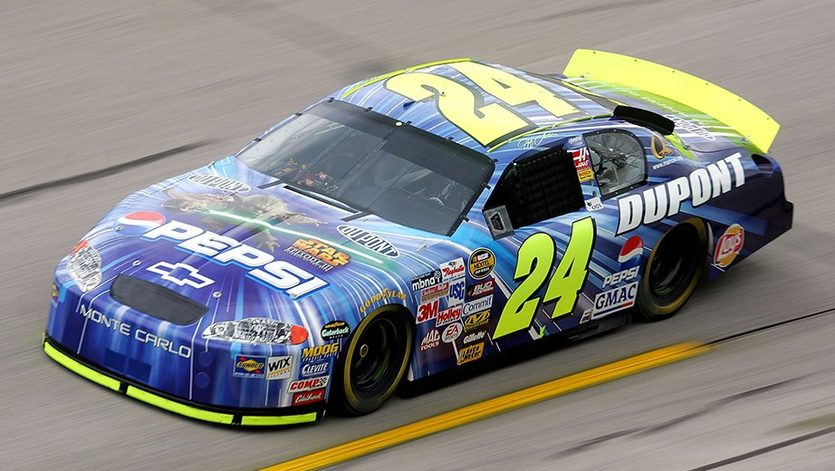 2005 Jeff Gordon Star Wars Paint Scheme