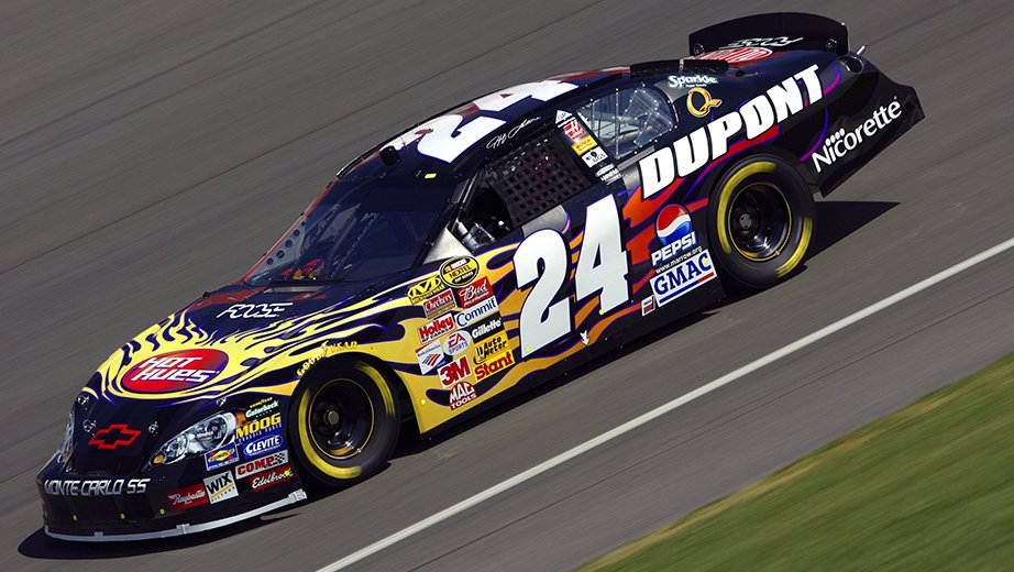 2006 Jeff Gordon Hot Hues Paint Scheme