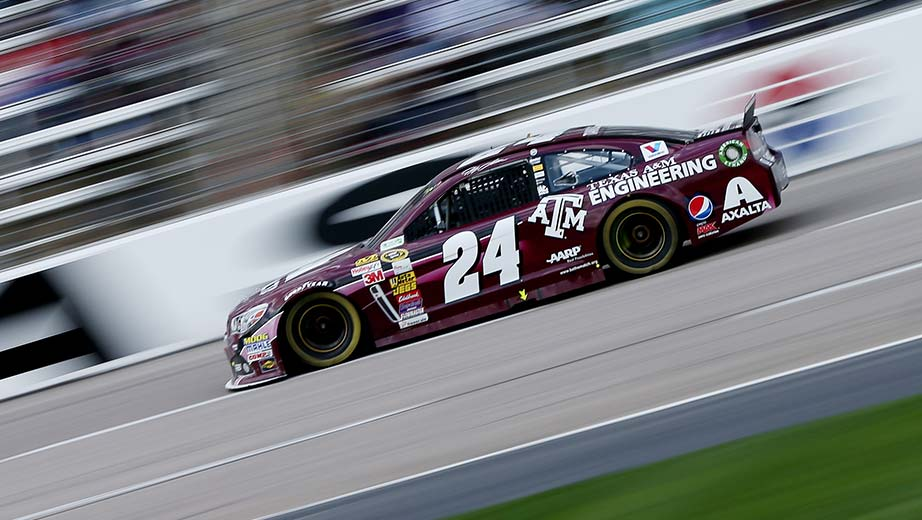 2014 Jeff Gordon Texas A&M School of Engineering Paint Scheme
