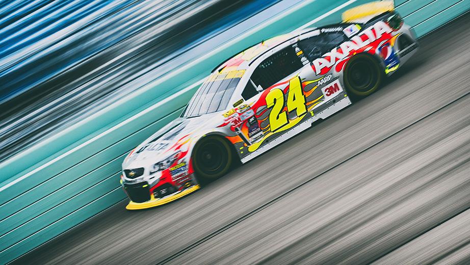 2015 Homestead-Miami Speedway NASCAR Cup Starting Lineup - Jeff Gordon Homestead