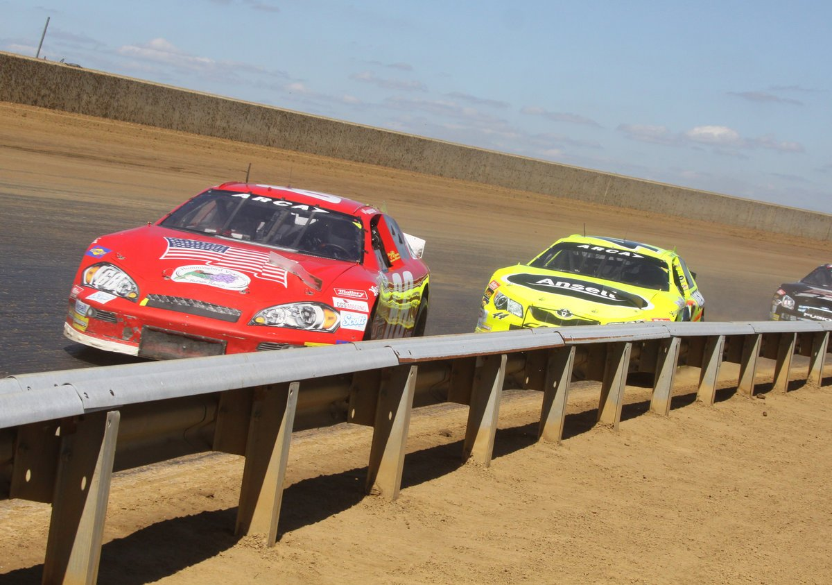 ARCA Racing Series Dirt Race Under the Lights in 2016